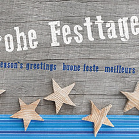 "Weihnachtskarten ""on the route"""